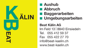 Logo - Beat Kälin AG